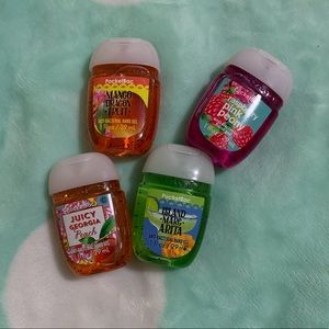 Assortment of Anti Bacterial Hand Gel